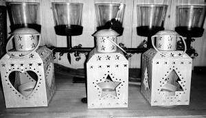 Vintage Christmas Lanterns